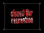 Schild closed for recreation