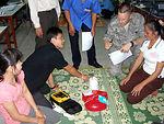 PACAF IHS teaches tecniques to Laos team