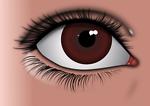 Realistic Brown Eye