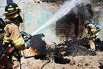 Afghan student firefighters put to the test