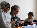 Camp Eggers staff visit Afghan girls' school