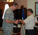 JTF-Bravo troops presented Honduran medals of merit