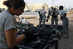 Prepositioning weapons at Balad to save $1.3 million