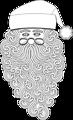 Santa 1 Outline