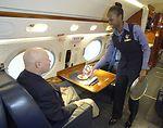 Flight attendants provide world-class service