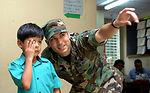 Air Force medics provide care aboard Navy hospital ship