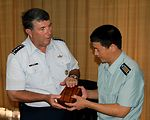 Chinese military hosts PACAF commander