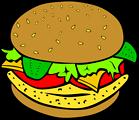 Fast Food, Lunch-Dinner, Chicken Burger