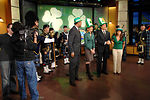 Reserve pipe band featured on St. Patrick's Day