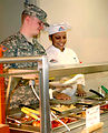Airmen, Soldier nutrition specialists cook, train together