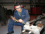 Vehicle maintenance Airmen use AFSO 21 initiatives