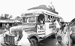 This bus was transporting Bangladesh residents fro
