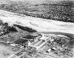 This historic 1931 photograph taken from an aerial