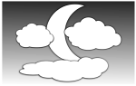 Clouds and the Moon 2