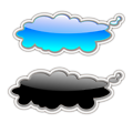 Glossy clouds-2