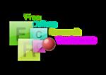 FCRC logo glass
