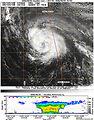 CloudSat Looks at Ike Sliced in Half