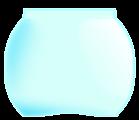 Gold-fish glas