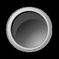 glossy darkgray button