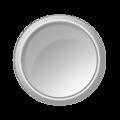 glossy lightgray button