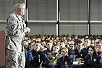 Speakers motivate cadets