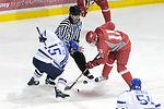 Falcons hockey team beats Pioneers