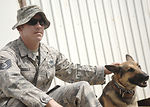 Servicemembers work 'out of the doghouse' at Joint Base Balad
