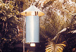 This is a New Jersey light trap used for trapping
