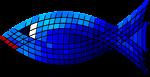 Tiled Blue Fish