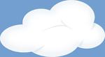 Set of soft clouds 5