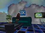 CDC's presence in the online virtual world 'Second