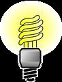 Energy Saver Lightbulb - Bright