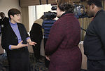 CDC Clinician, Joanne Cono, MD, is being interview