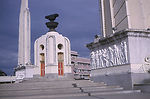 This is a photograph of a war memorial in Bangkok,