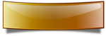 Glossy banner, bended