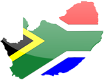 South African Flag 2