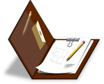 Brown Clipboard