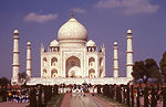 This 2000 image of the Taj Mahal monument in Agra,