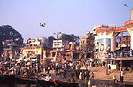 The Indian city of Varanasi is situated on the ban