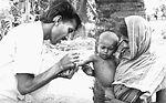 This volunteer smallpox eradication team vaccinato