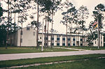 This 1968 image depicts what was an exterior of a