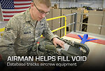 Airman helps fill void