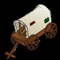 RPG map symbols: a caravan