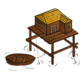 RPG map symbols: Fishery