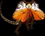 Frill-necked lizard (dragon)