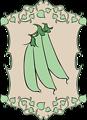 Garden Sign Peas
