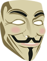 Guy Fawkes mask (3d)