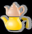 shiny teapot