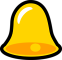 Yellow Bell Icon that looks cool with lots of title words to increase the titles space in an unrealistic test!