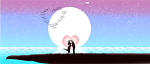 love in a star night